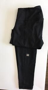 Knockout by Victoria's Secret  VSX Sport Black Tight leggings Size M