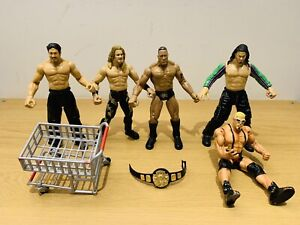 Jakks 1999 WWE WWF Wrestling Action Figure Toys, Job Lot, Bundle.