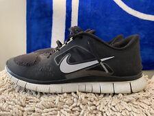 Nike Free Run+ 3, 510642-002, Black / White, Mens Running Shoes, Mens Size 13