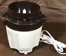 Moulinex La Machine Model 390 Food Processor 580 Watt MOTOR BASE ONLY