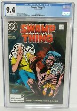 Swamp Thing #59 (1987) Totleben Cover/ DC Comics CGC 9.4 O108