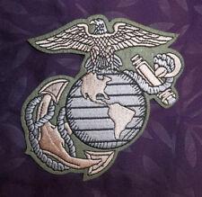 U.S. MARINES PATCH MARINE CORPS USMC EMBROIDERED SEW/ IRON SEMPER FI