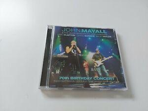 2 CD set - John Mayall & The Bluesbreakers & Friends - 70th Birthday Concert