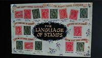 'The Language of Stamps' No. 2644 Regent Publishing Postcard