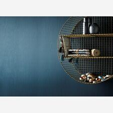 Round Circle Circular Wire Mesh Gold Brass Shelf, 2 Tier Shelving Display Unit