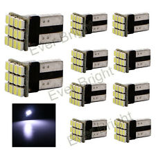 10Pcs T10 W5W PCB 1206 12SMD 12 LED Car Interior Led Light Bulb Cool White 12V