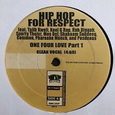 HIP-HOP FOR RESPECT (VINYL EP)  2000!!  RARE!!  TALIB KWELI + MOS DEF + COMMON!!