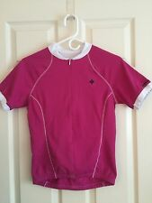 Specialized Cycling Mira Jersey,Women.  Color: Berry.  Size: Medium Bike
