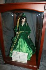 Make an Offer- Franklin Mint Gone with the Wind Scarlett O'Hara Doll with case