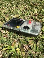 Nintendo GameBoy Color - Refurbished Colour Game Boy Handheld GBC Black Clear