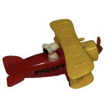 Vintage Peanuts Snoopy Prop Plane Aviva 1965 United Feature Syndicate