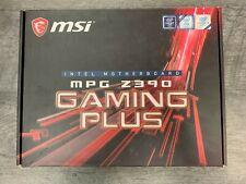 MSI - MPG Z390 GAMING PLUS (Socket LGA1151) USB 3.1 Gen 1 Intel Motherboard w...