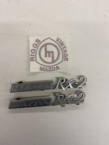 Mazda Rx2 rear quarter badges