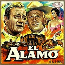 EL ALAMO Soundtrack CD #17/100 O.S.T Original 1960 Dimitri Tiomkin John Wayne