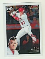 2019 Panini Donruss Optic ACTION ALL STARS #AA-3 MIKE TROUT Angels