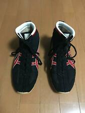 asics wrestling boxing shoes Black Red 27.5 cm shipping from Japan pre-owned