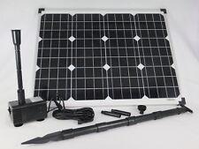 50 W Solarpumpe Teichpumpe Gartenteich Solar Bachlaufpumpe Pumpe Wasserspeier