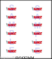 RIVER POINT STATION RSP BOLEY 1/87 HO SCALE VEHICLE DOOR DECALS MAMMOET CRANE