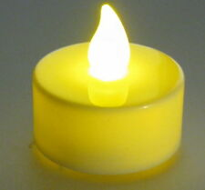 Flickering Yellow LED Candle with CR2032 3V Battery and Switch  Battery Included