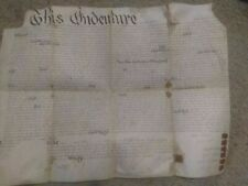 Chester County, Pennsylvania 100 Acre Land Deed from 1794 mentions Wm. Penn 1718