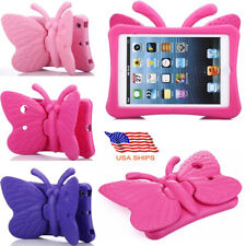 For Apple iPad Tablet Kids Shockproof Guard Butterfly EVA Foam Case Stand Cover