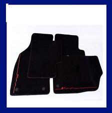 FIAT 500 Car Mats Genuine LOGO ROSSO SET COMPLETO TAPPETI DOPPIO FISSAGGIO 59137282