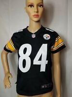 Pittsburgh Steelers Antonio Brown Football Jersey Nike On Field NFL Black Small