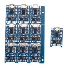 10Pcs 5V mini USB 1A 18650 TP4056 Lithium Battery Charging Board With Prote V3O1