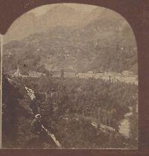 St Sauveur, Switzerland, Rare Vintage Stereoview