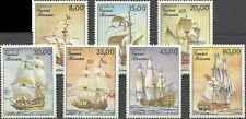 Timbres Bateaux Guinée Bissau 368/74 ** lot 11803