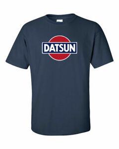 DATSUN Navy Retro Logo T-Shirt