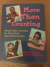 More Than Counting : Whole Math  Preschool & Kindergarten Moonmaw 1995