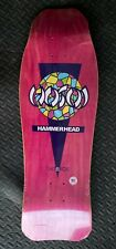 Christian Hosoi Skateboard Deck, Pink With Stained Glass! (read description)