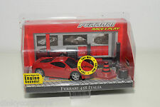 BBURAGO BURAGO FERRARI 458 ITALIA RACE AND PLAY SET MINT BOXED