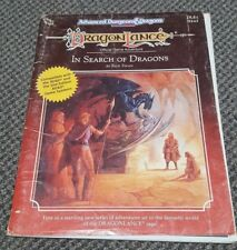 Dragonlance - In Seach of Dragons - DLE1 TSR 9243 AD&D Dungeons & Dragons