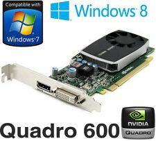 NVidia Quadro 600 1 Go DDR3 PCI-E DisplayPort DVI Carte graphique PWG0F