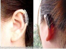 Punk Style Vintage Skeleton Vertebra Bone Party Stud Earring Clip Ear Cuff