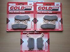 Pastillas de freno Sinterizadas Delanteras Y Traseras Para: Honda CBR 600 F (fr 1994) CBR600 CBR600F