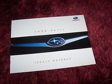 Catalogue / Brochure SUBARU Legacy & Outback 2006 //