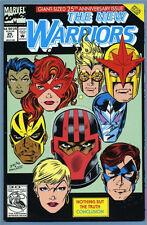 New Warriors #25 1992 Marvel Comics Die Cut Cover