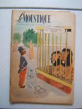 DUPUIS / LE MOUSTIQUE / NUMEROS 1235 / septembre 1949  /  COUVERTURE  WILL