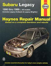 1990-1999 Haynes Subaru Legacy Repair Manual