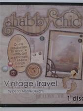 1 x Debbi Moore Designs Shabby Chic Vintage Travel CD Rom (291851)