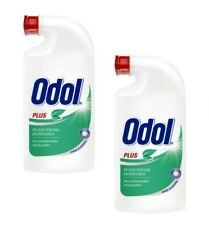 ODOL - Mouthwash plus 125 ml - two (2) Bottles - Old German Brand