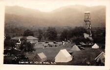 Indian Head New Hampshire~Lodge~Tent Camping~Observation Tower~1920s RPPC