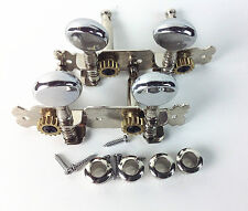 Classical Chrome Tuning Pegs Machine Heads tuner for 4 strings  guitar