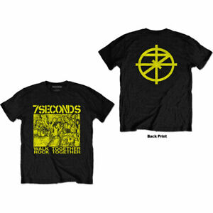 7 SECONDS Walk Together Soft Slim Fit T-SHIRT NEW S M L XL XXL official band
