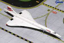 GEMINI JETS BRITISH AIRWAYS CONCORDE  (FILTON) 1:400 DIE-CAST L GJBAW1667 G-BOAF