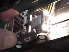 New Custom Flame Thrower Ford Bronco Xtraction HO Slot Car run on Aurora AFX