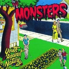 The Monsters - Youth Against Nature  CD  13 Tracks Alternative Rock  Neuware